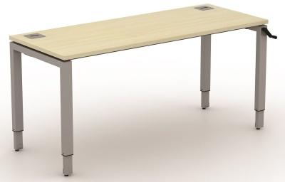 Avalon Height Adjustable Bench Desks 600mm Deep