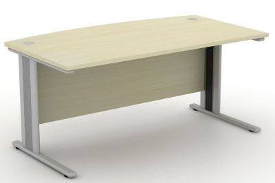 Avalon Plus Bow Fronted Desk