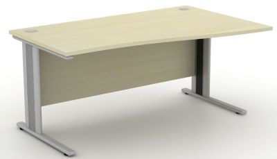 Avalon Plus Right Hand Wave Desk