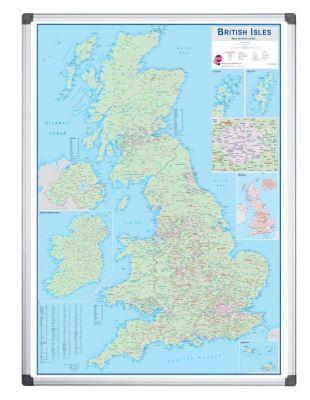 Bristish Isles Sales And Marketing Map