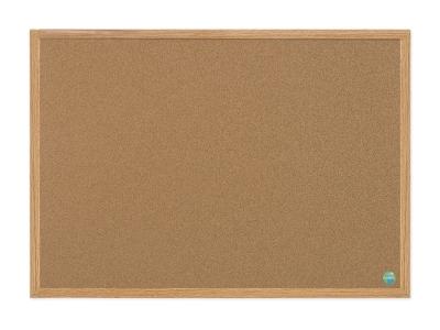 Bio Budget Corkboard With A Pine Frame