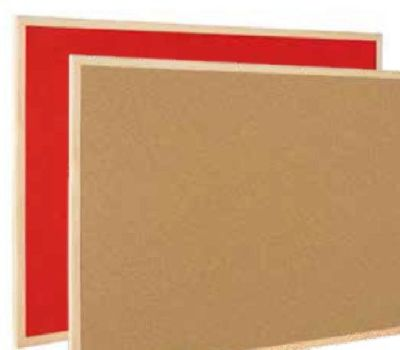 Bio Reversible Cork Board And Noticeboard
