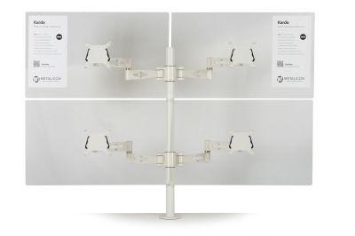 Matal Quad Arm For Four Monitors
