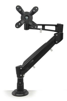 Fortress Monitor Arm In Black