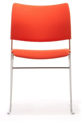 Elios Multi Use Chair In Orange Upholstery