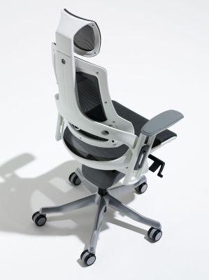Zodiac Chair Charcoal Mesh Rear View