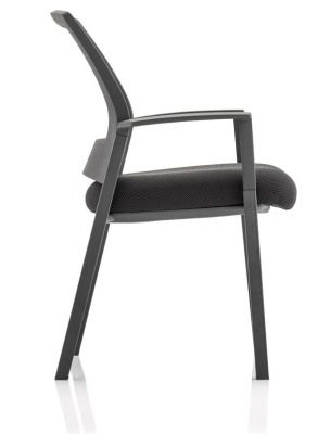 Carlton Mesh Back Conference Chair Side View