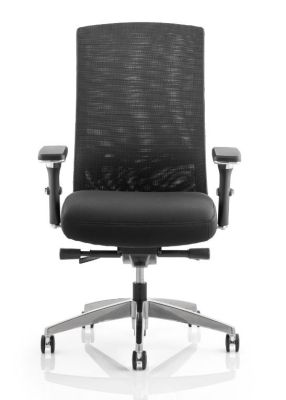 Telsa Executive Mesh Chair Front View