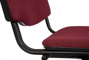 Primary Chair In Dark Maroon Fabric