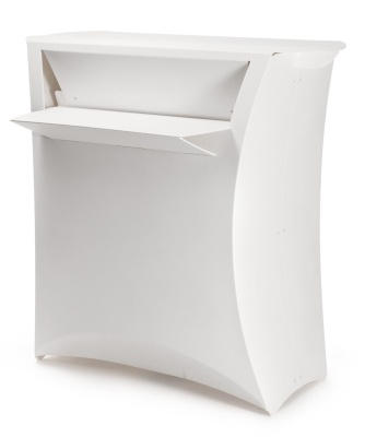 Flux Folding Counter In White