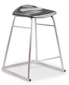 Titan High Stool Charcoal Seat