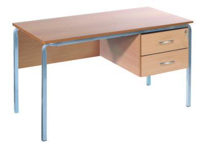 Ms Teachers Desk With A Crush Bent Frame