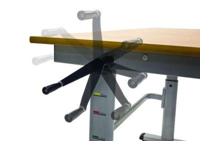 Pw Height Adjustable Desk Crank Handle Detail