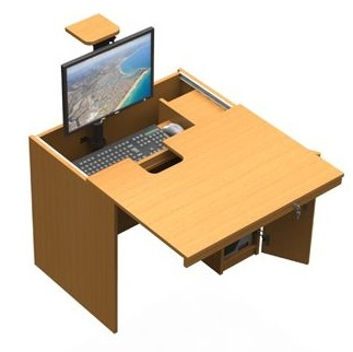 In-desk In Beech Aerial Shot