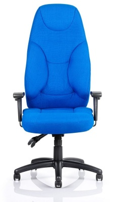 Galaxy High Back Ergonomic Chair Front View