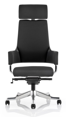 Starlight Executive Chair In Black Fabric