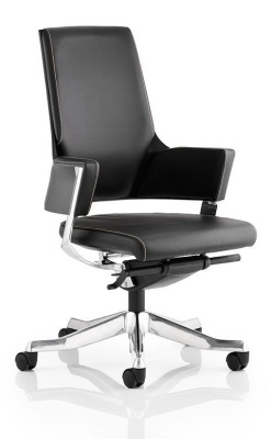 Starlight Black Leather Executive Deesigner Chair