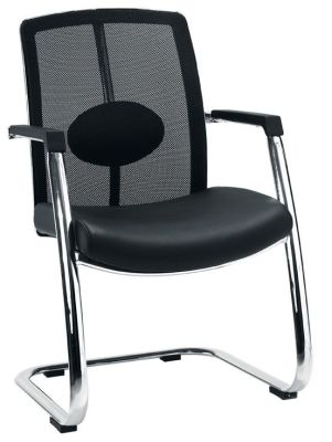 Sapphire Mesh Visitors Chair