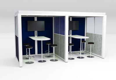 QC Double Meeting Room Acoustic Pod 2