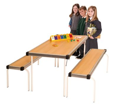 Fast Fold Table And Bench Set