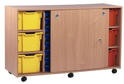 Mobile Multi Tray Storage Unit 3