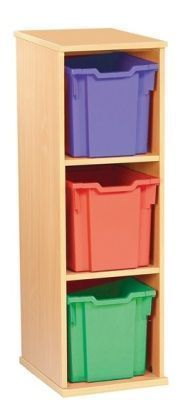 Aztec Three High Jumbo Classroom Storage Unit