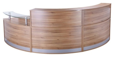 PB Deluxe Reception Desk Configuration 7