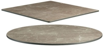 Marble Grey HP Laminate Table Tops