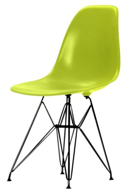 Eames Dsr Lime Green With Black Frame