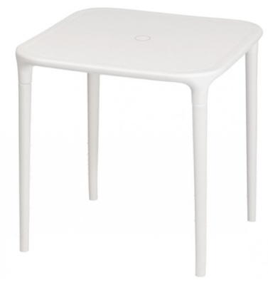 Astral All Weather White Plastic Table