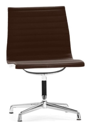 Aria Conference Designer Chairs In Brown Leather