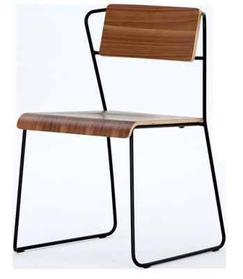 Philip Gailard Chair Walnut Seat And Back