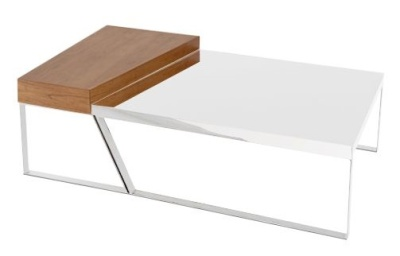 Drifter Table High Gloss White Top