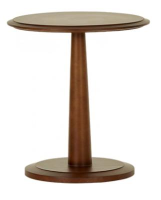 Cambridge Side Table Walnut Finish