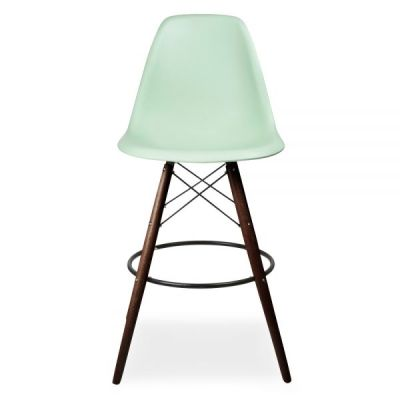DSW High Stool Peppermint Seat Front View