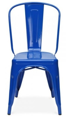 Tollix V4 Chair Blue Front View