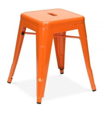 Tollix V4 Low Chair In Orange 2