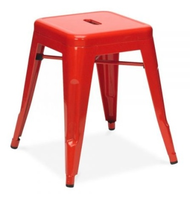 Tollix V4 Low Stool In Red