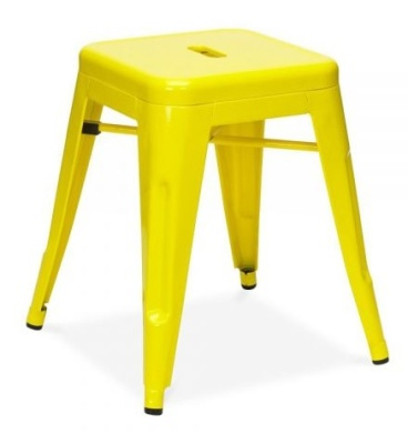 Tollix Low Stool In Yellow