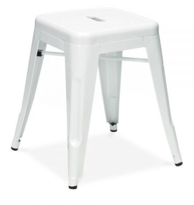Tollix V4 Low Stool In White