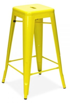 Xavier High Stool In Yelllow 2