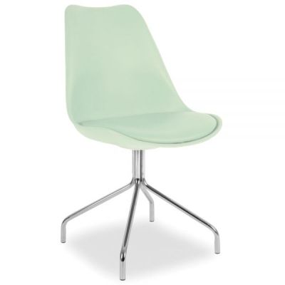 Lacro Poly Chair In Peppermint Front Angle