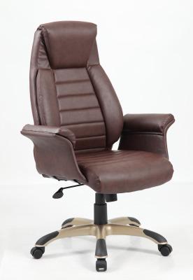 Roberto Brown Leather Executive Chair