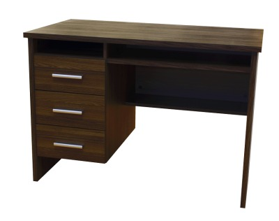 Dalston Office Desk In Wenge