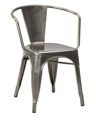 Xavier Pauchard Arm Chair In Gun Metal 1