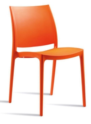 Maya V2 Chair Orange