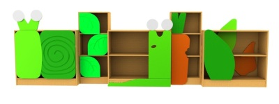 Slugs And Snails Bookcase Set