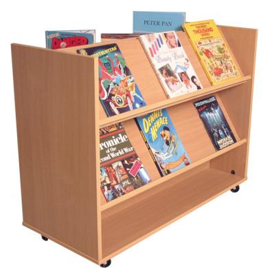 Flat - Angled Book Trolley
