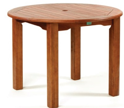 Tiverton Round Bar Height Table