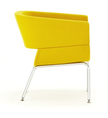 Lola Designer Tub Chair Side View